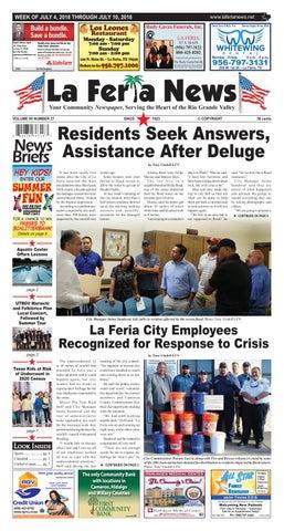 La Feria News | July 4, 2018 by La Feria News - issuu