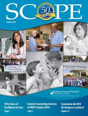 Scope Magazine June 2018 by Mason General Hospital & Family