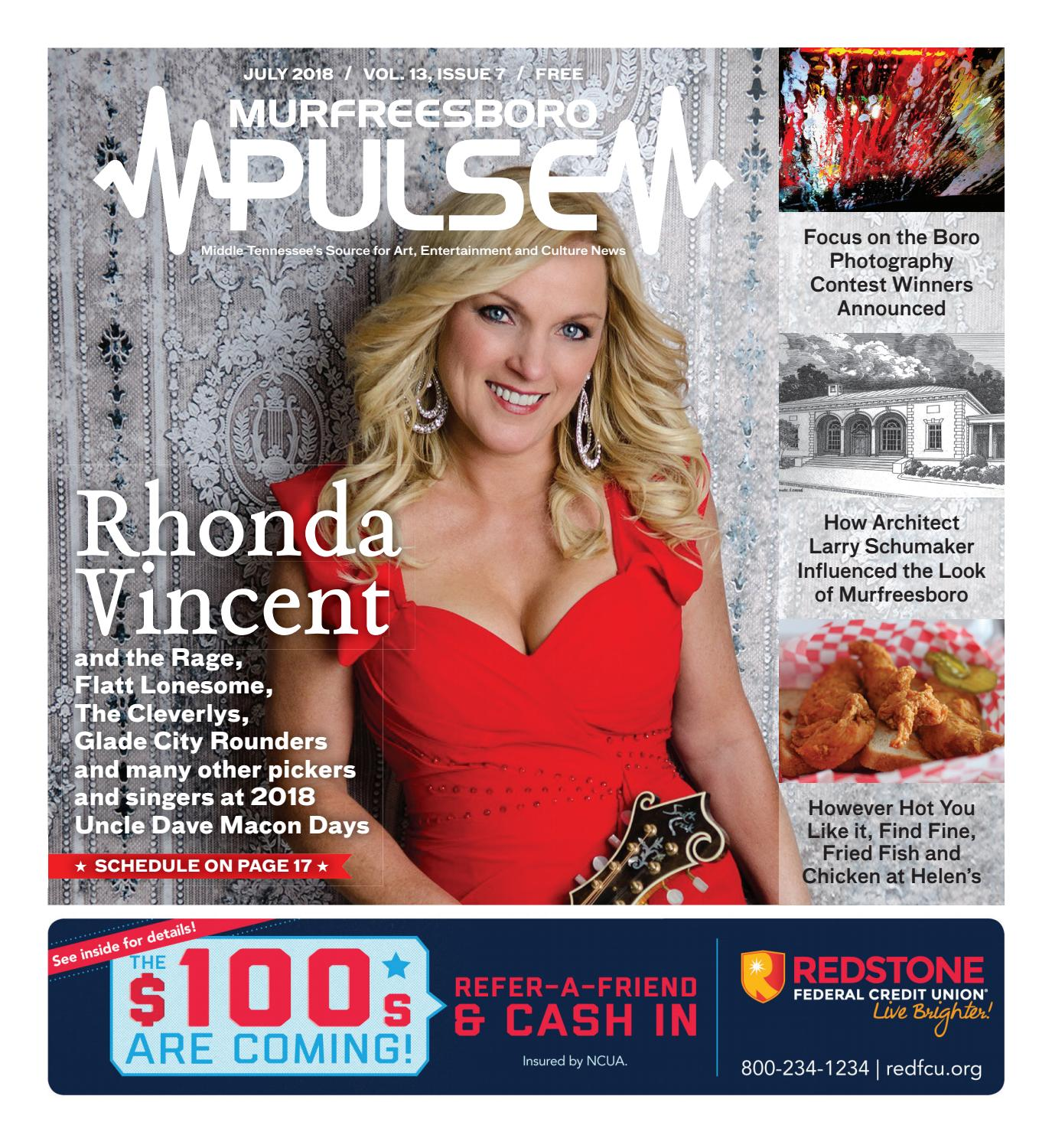 July 2018 Murfreesboro Pulse by The Murfreesboro Pulse - issuu