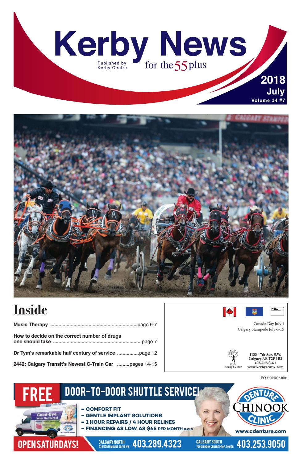 Kerby News July 2018 By Kerby Centre Issuu
