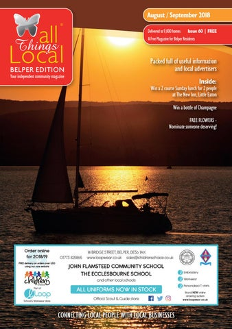 all things local belper edition august september 2018 by karyn