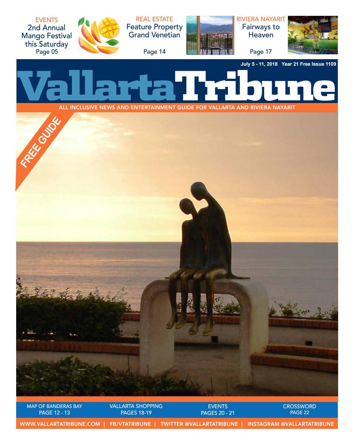 Issue 1109 July 5 11 2018 By Vallarta Tribune Issuu