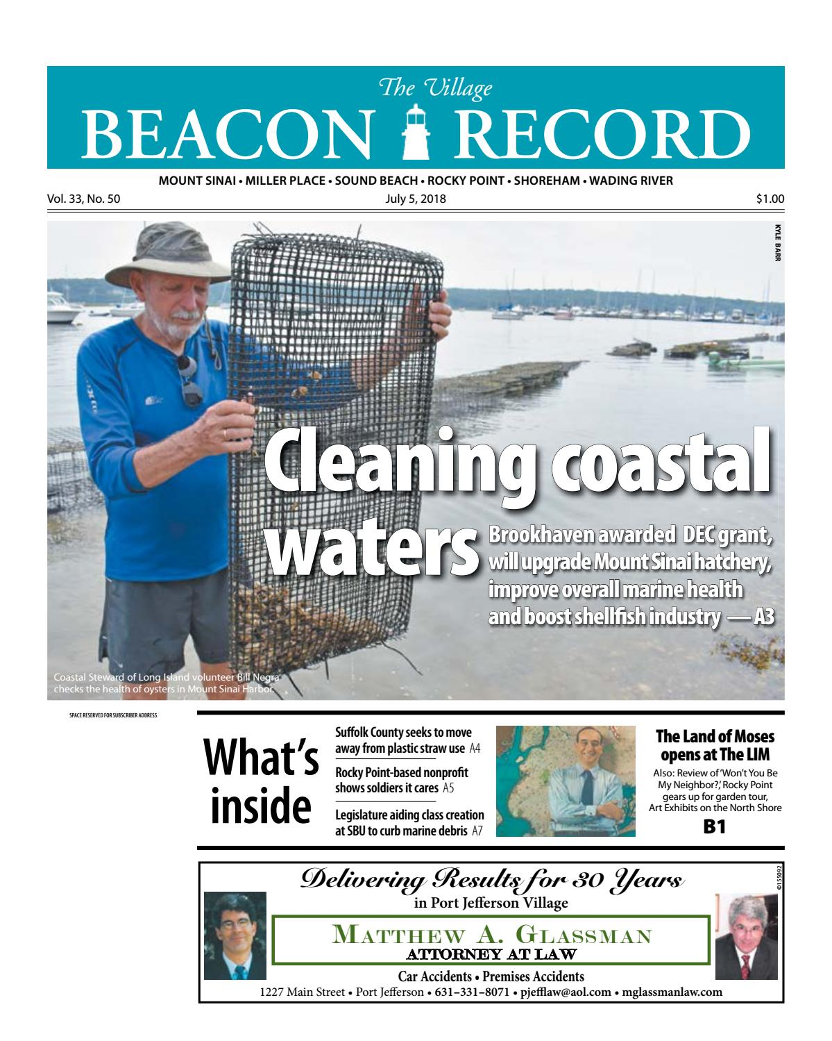 The Village Beacon Record - July 5, 2018 by TBR News Media