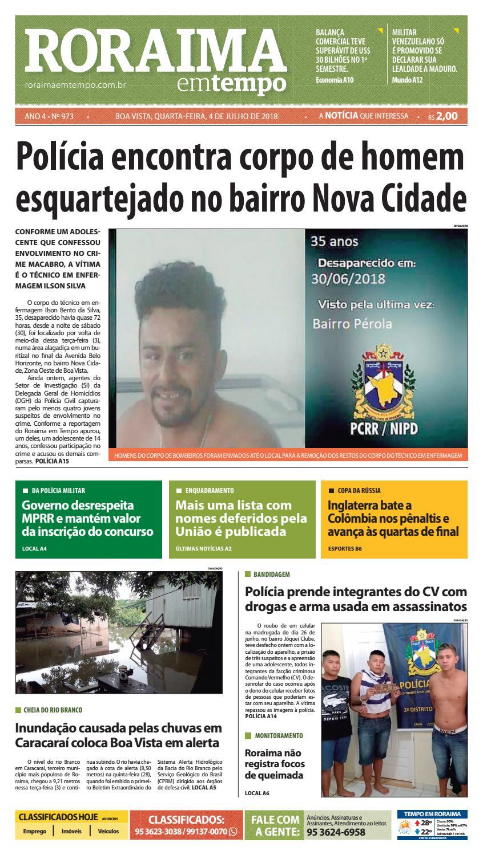 Jornal roraima em tempo – edição 973 by RoraimaEmTempo - issuu 313ad67d8a1