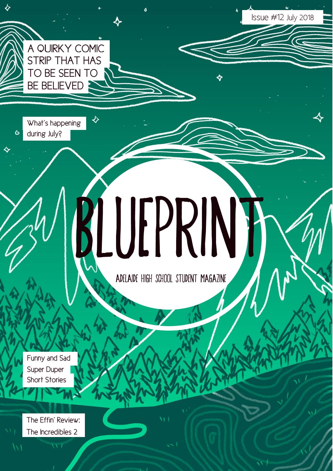 Blueprint student magazine issue 12 by Adelaide High School - issuu
