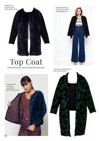 Page 20 of Top Coat: Coats for a Hot Hobart Winter