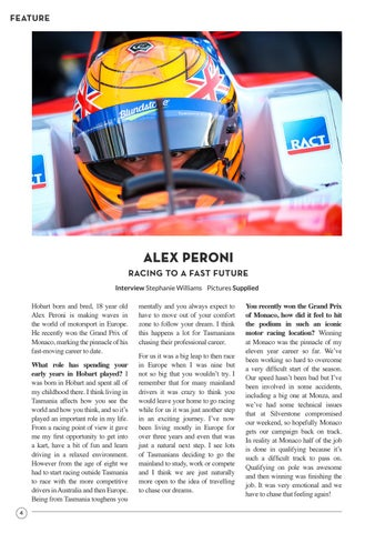 Page 6 of Alex Peroni: Racing To A Fast Future