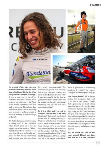 Page 7 of Alex Peroni: Racing To A Fast Future