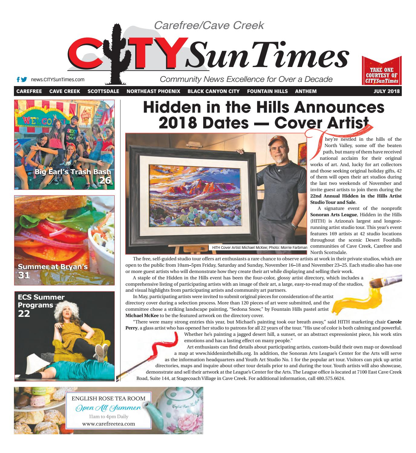 Carefree Cave Creek July 2018 Issue Of Citysuntimes By Jenifer Lee Torch Tas Ransel Glandale Abu Issuu