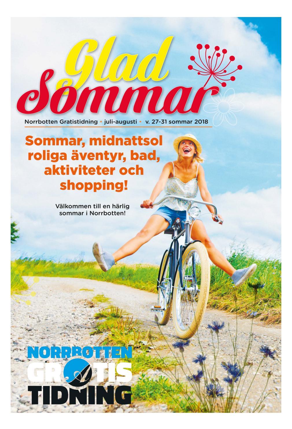 Glad Sommar Norrbotten by Svenska Civildatalogerna AB issuu