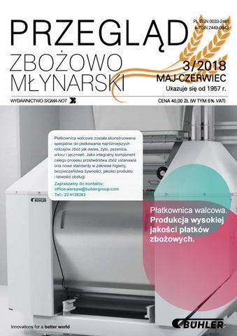 6ecd21eff83b2 Przeglad Zbozowo-Mlynarski 3_2018 by Monika - issuu
