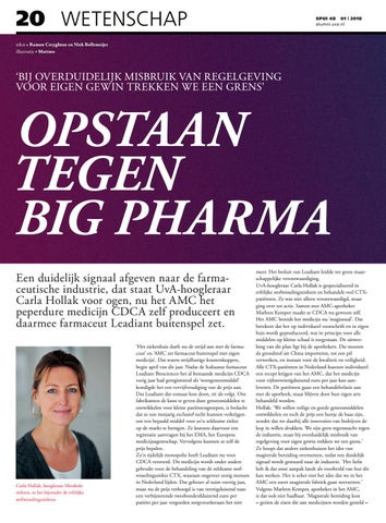 Page 20 of Opstaan tegen Big Pharma