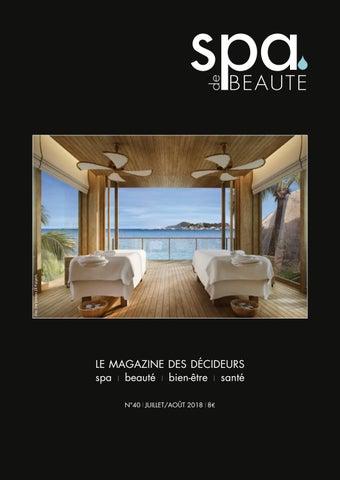 Spa De Beauté JuilletAoût By Les Nouvelles Esthetiques Issuu - Faience cuisine et tapis de marche reeducation