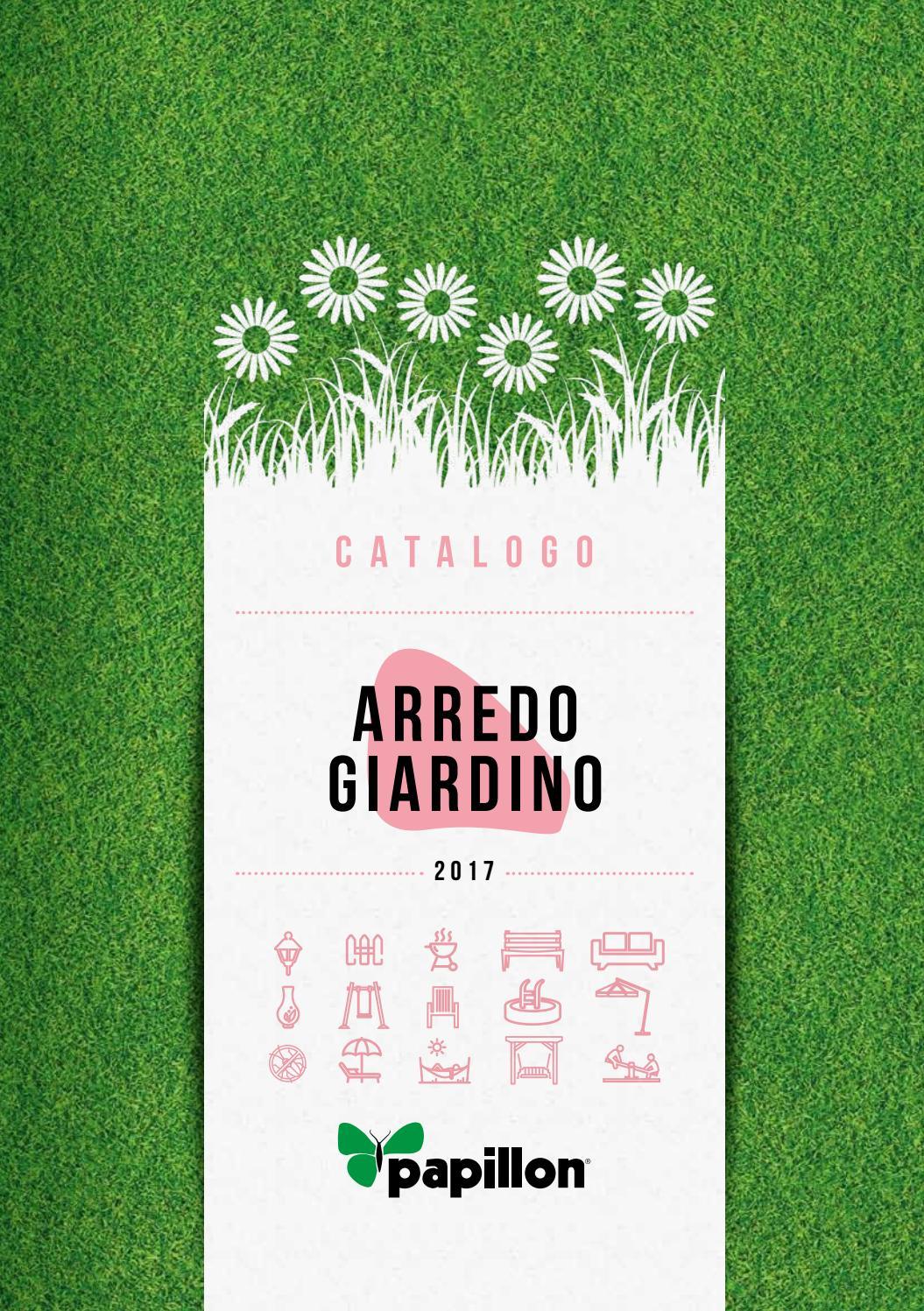Catalogo arredo giardino by oggiweb srl issuu for Catalogo arredo giardino