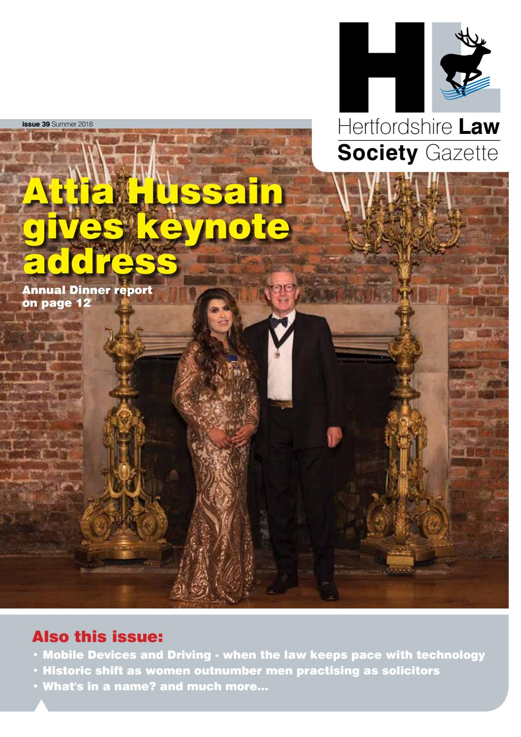 Herts Law Society Gazette issue 39 online edition by EPC