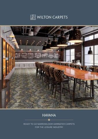 Havana Narrowloom Axminster Carpets brochure by Wilton