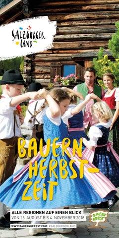 Bauernherbst Broschüre 2018 By Ferienregion Nationalpark Hohe Tauern
