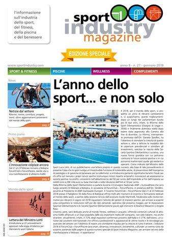 263363a47aab l'informazione sull'industria dello sport, del fitness, della piscina e del  benessere