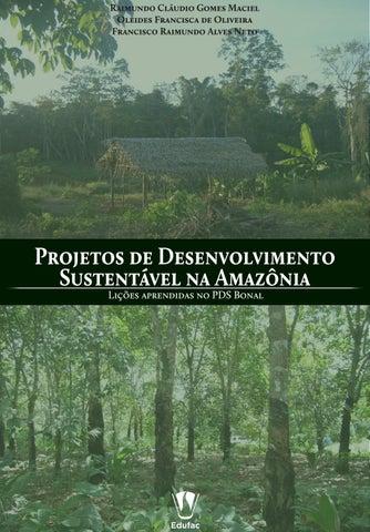 Projetos de Desenvolvimento Sustentável na Amazônia by Editora ... 2cb887926e