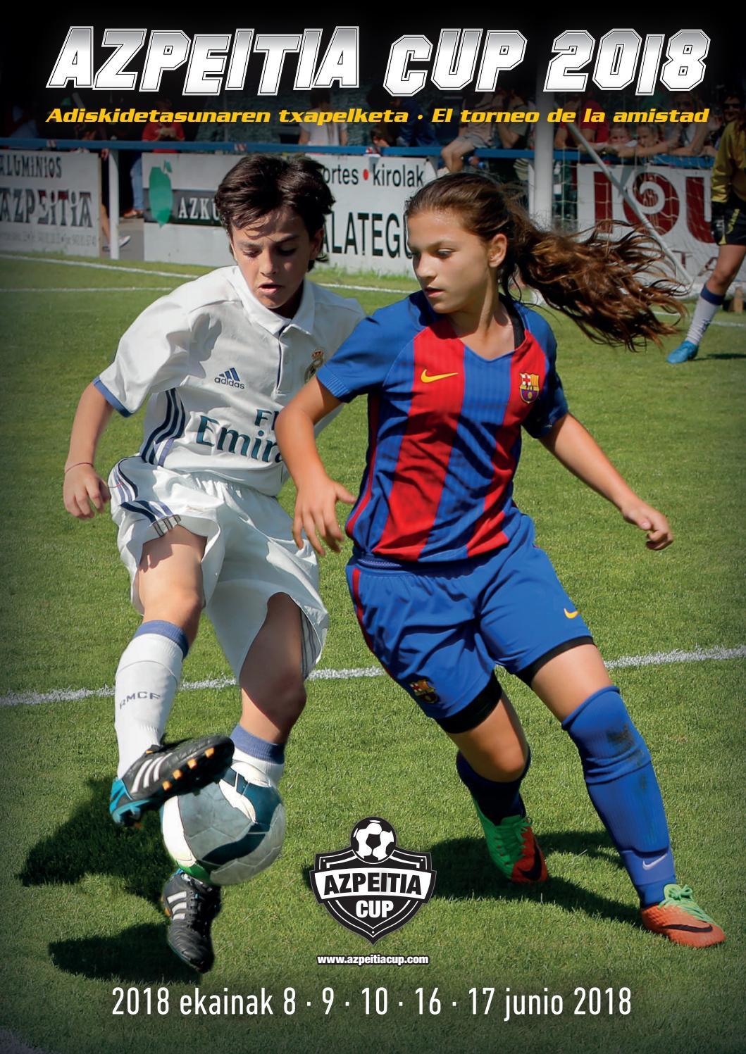 Azpeitia Cup 2018, aldizkaria, revista oficial by Azpeitia