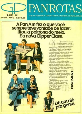 Guia PANROTAS - Edição 100 - Julho 1981 by PANROTAS Editora - issuu 13b37c1f894