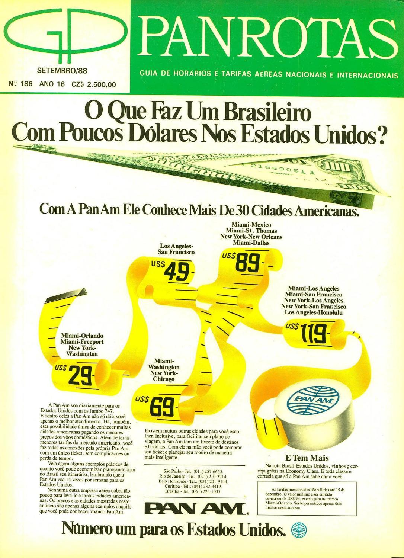 89dcd054495 Guia PANROTAS - Edição 186 - Setembro 1988 by PANROTAS Editora - issuu