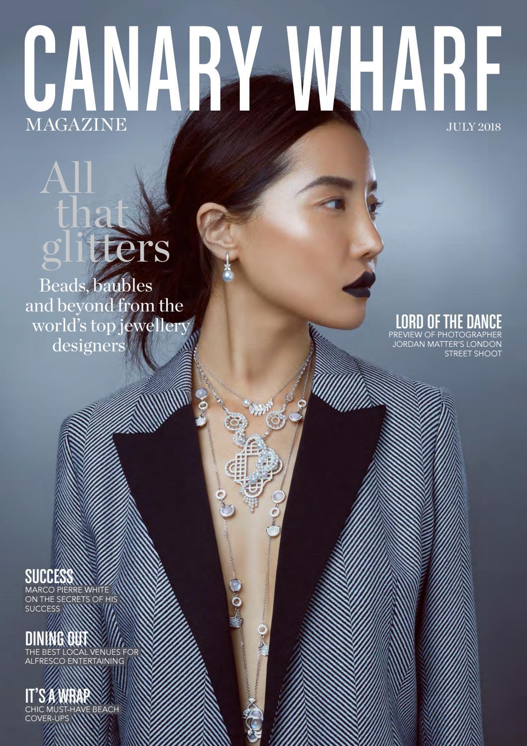 dbed095f0d60 Canary Wharf Magazine July 2018 by Luxury London Media - issuu