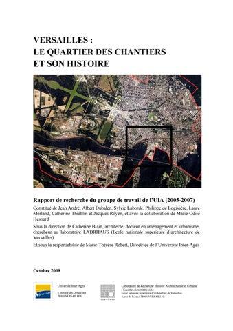 961bf968914003 Versailles   le quartier des Chantiers et son histoire by Catherine ...