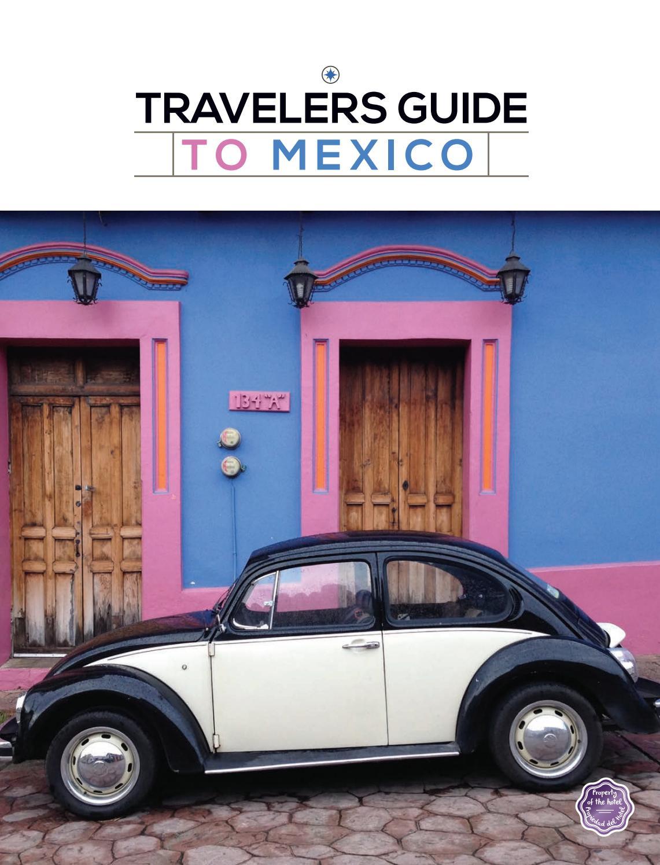 Travelers Guide to Mexico 2018   2019 by Boletín Turístico - issuu 656f68e8bf3cc