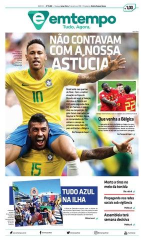 Em tempo 03 de julho de 2018 by Amazonas Em Tempo - issuu 856463313a0a0