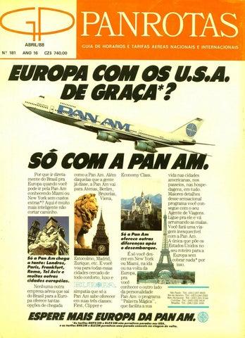 59d2e6f9476 Guia PANROTAS - Edição 181 - Abril 1988 by PANROTAS Editora - issuu