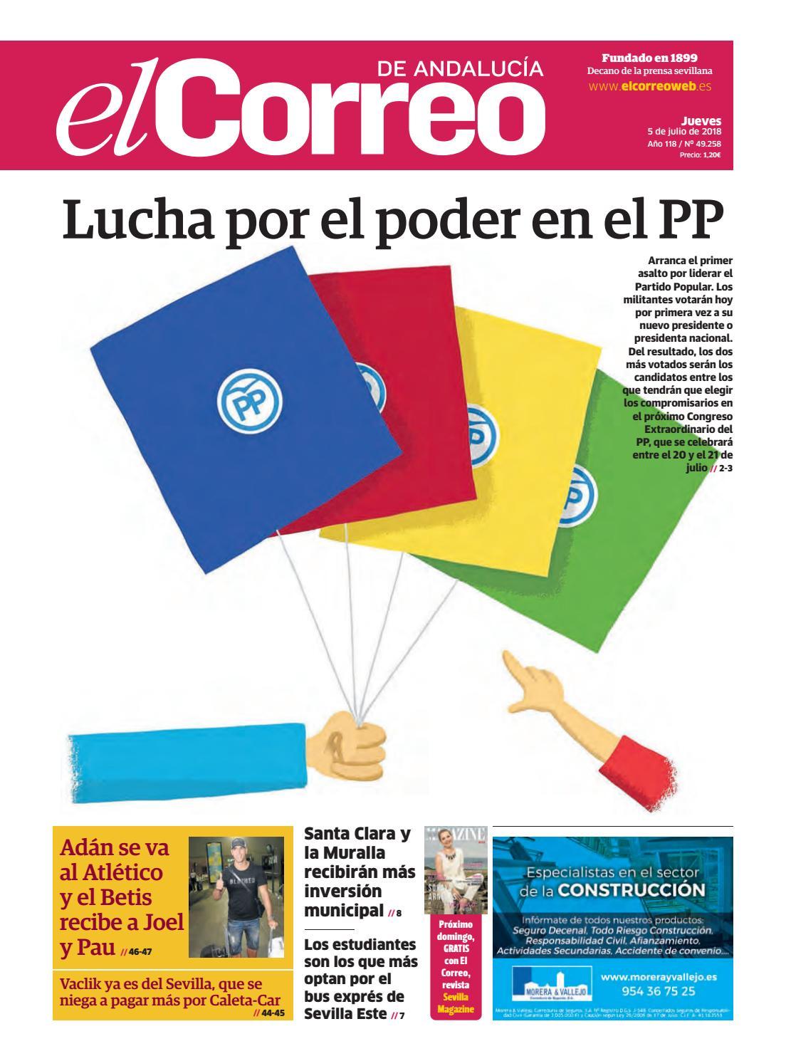 6f0ce611fee1 05.07.2018 El Correo de Andalucía by EL CORREO DE ANDALUCÍA S.L. - issuu