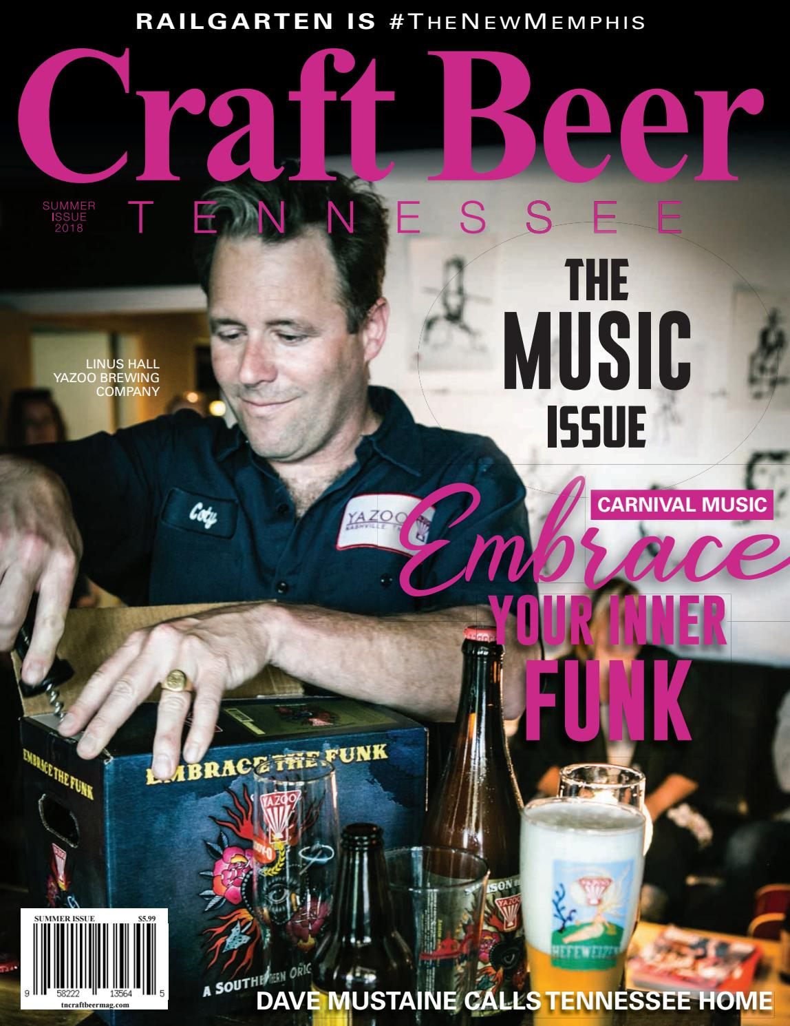 Tennessee Craft Beer Magazine Summer 2018 By Tn Craft