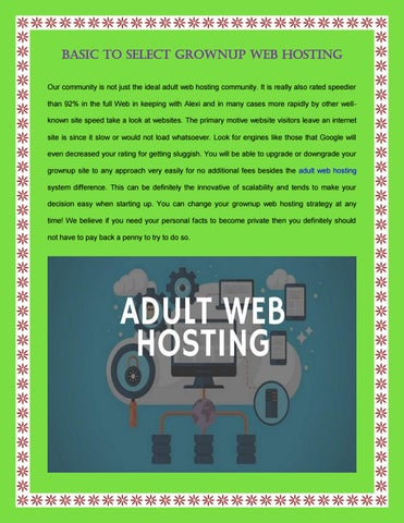 page Adult hosting web