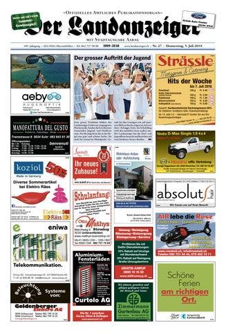 Der Landanzeiger 27/18 by ZT Medien AG - issuu