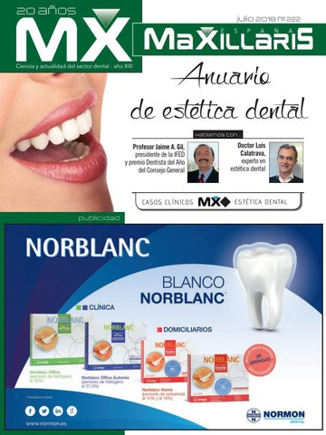 REVISTA MAXILLARIS número 222 de julio by CYAN EDITORES, S.L. - issuu