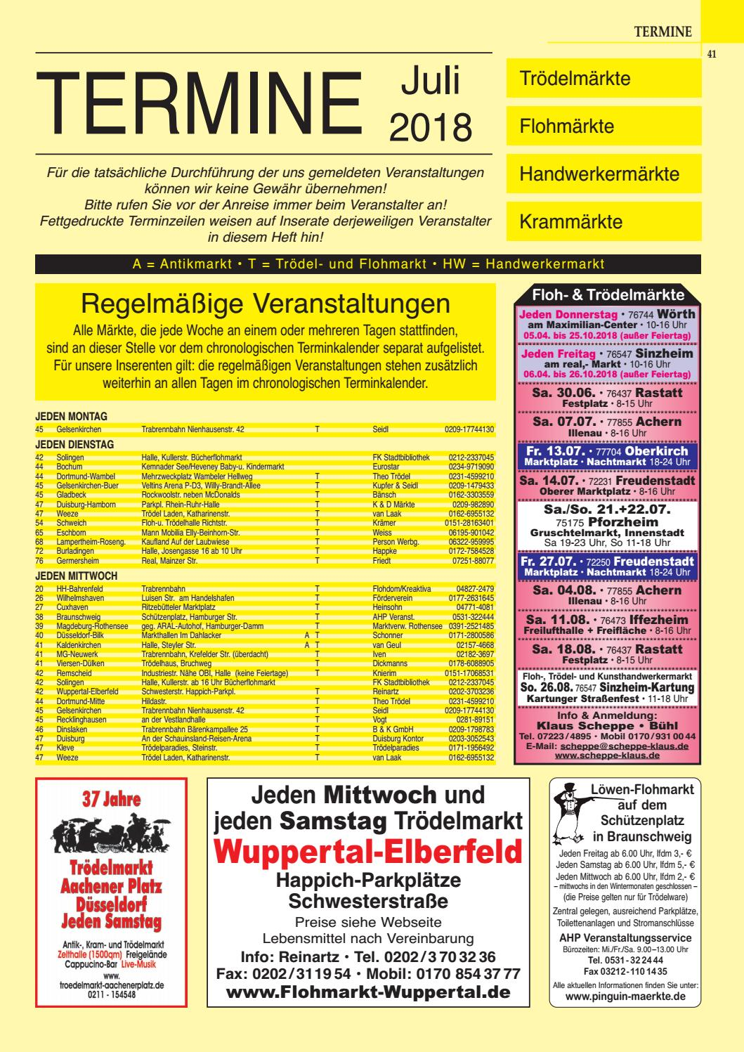 Termine Troedelmaerkte 0718 By Gemi Verlags Gmbh Issuu