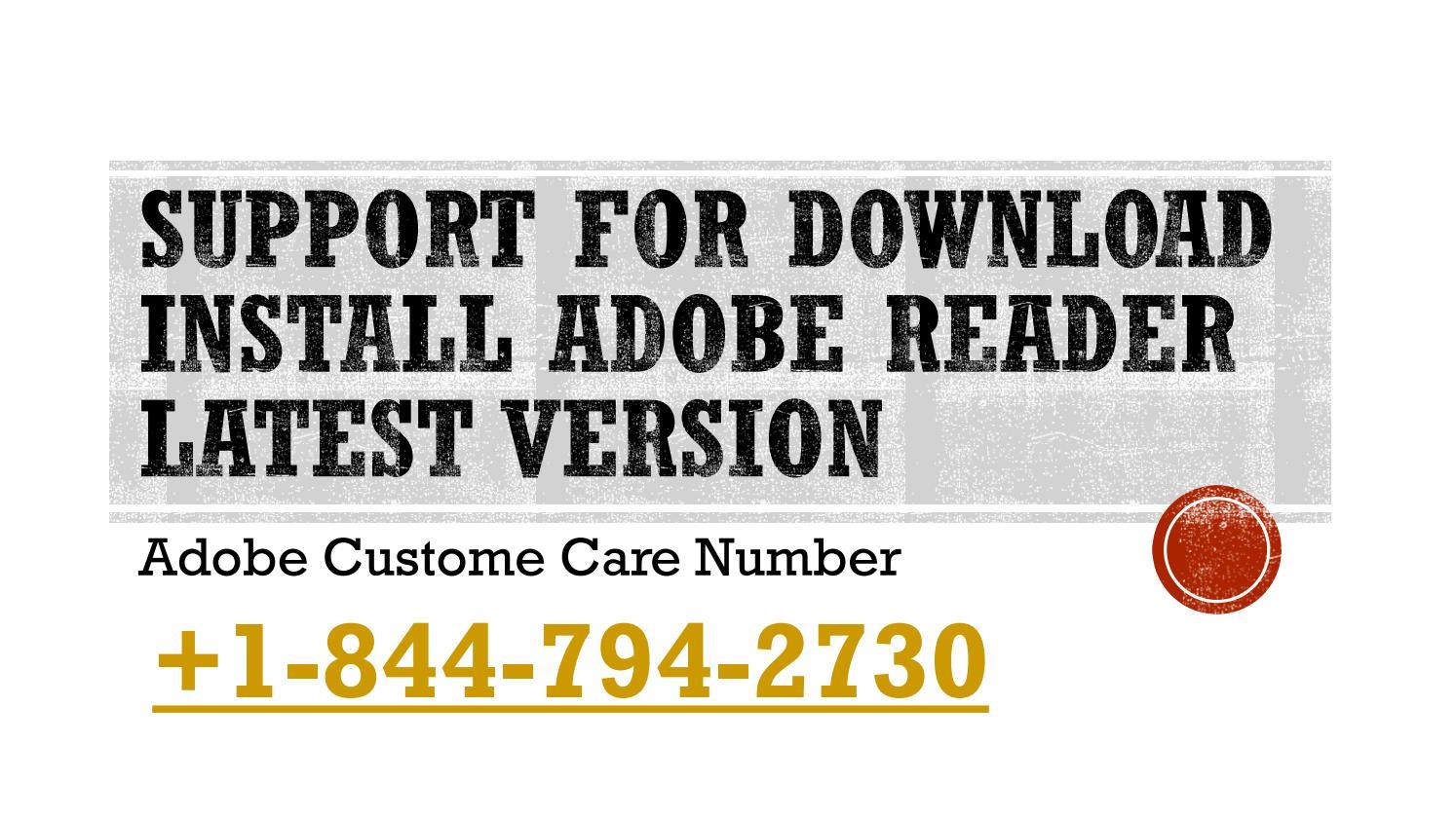 install adobe reader printer