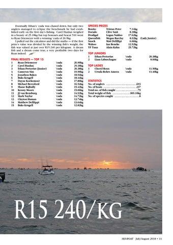 Page 11 of Durban Ski Boat Club Festival 2018