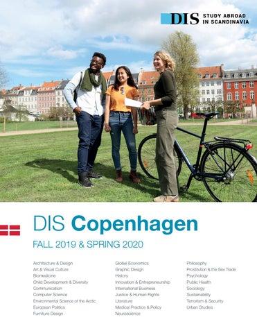 DIS Copenhagen Semester Catalog, Fall 2019 & Spring 2020 by DIS