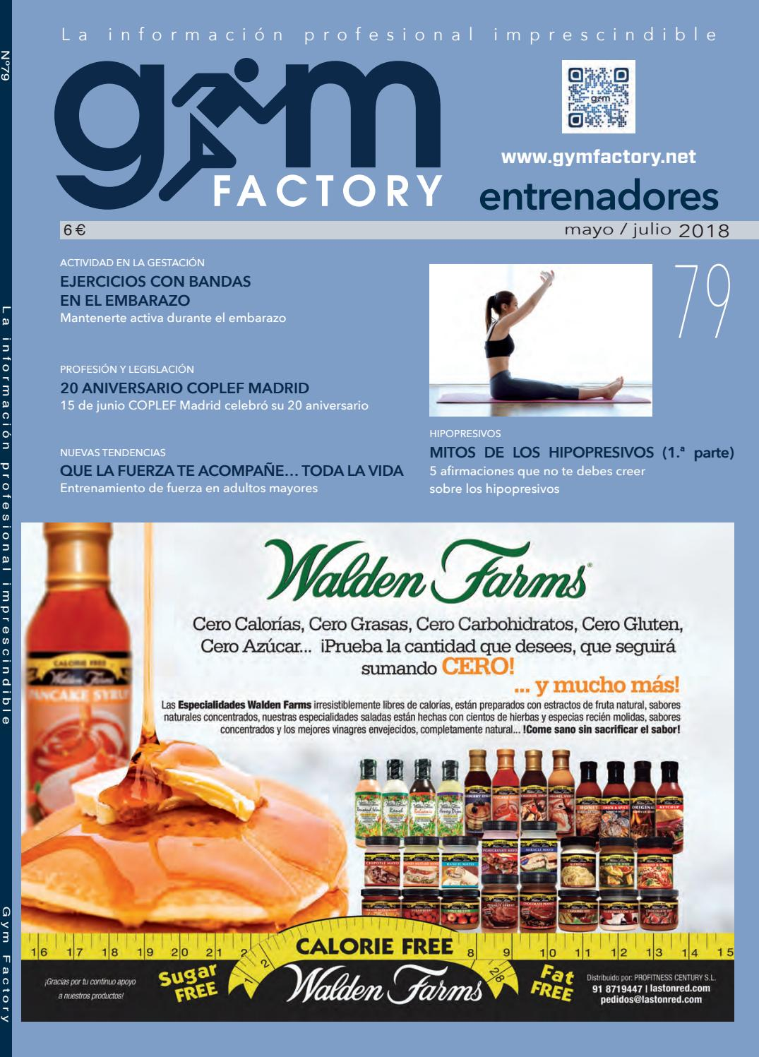 Gym Factory Entrenadores Nº79 by Gym Factory Magazine - issuu