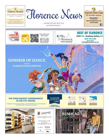 5f86228c71 Florence News Summer Edition 2018 by FN - issuu