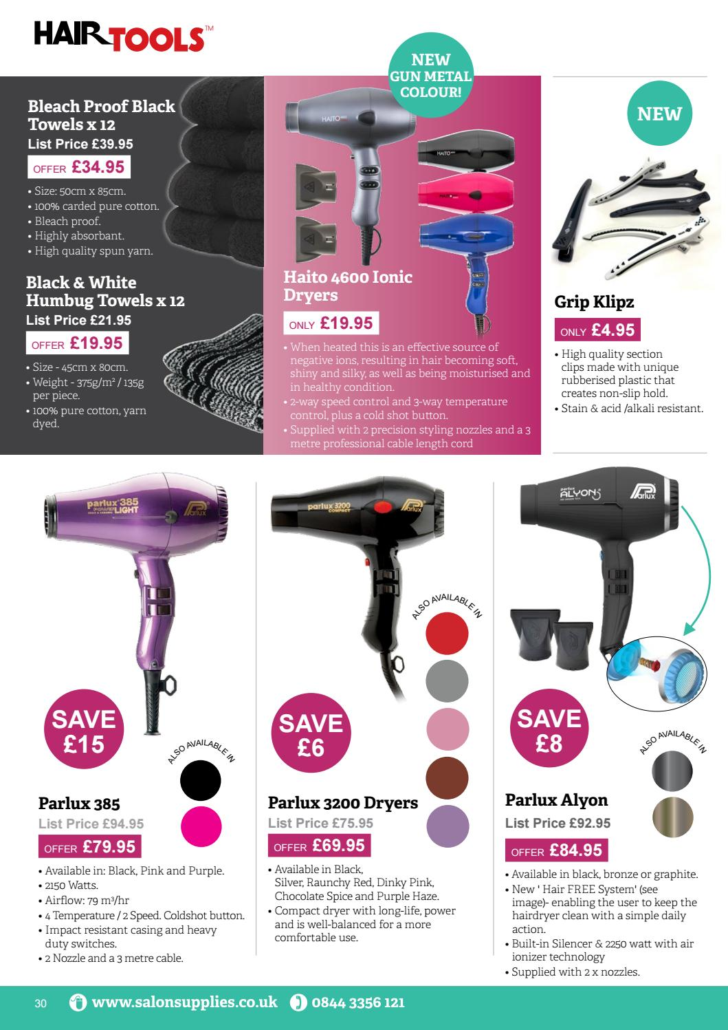 Haito 4600 Ionic Black Hair Dryer