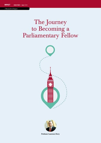Page 30 of The Journey to Becoming a Parliamentary Fellow