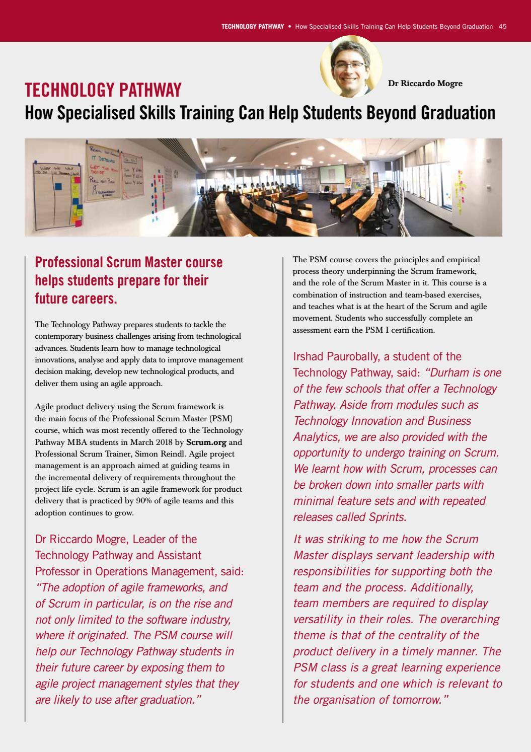 Impact Magazine Issue 4 By Durham University Business School Issuu