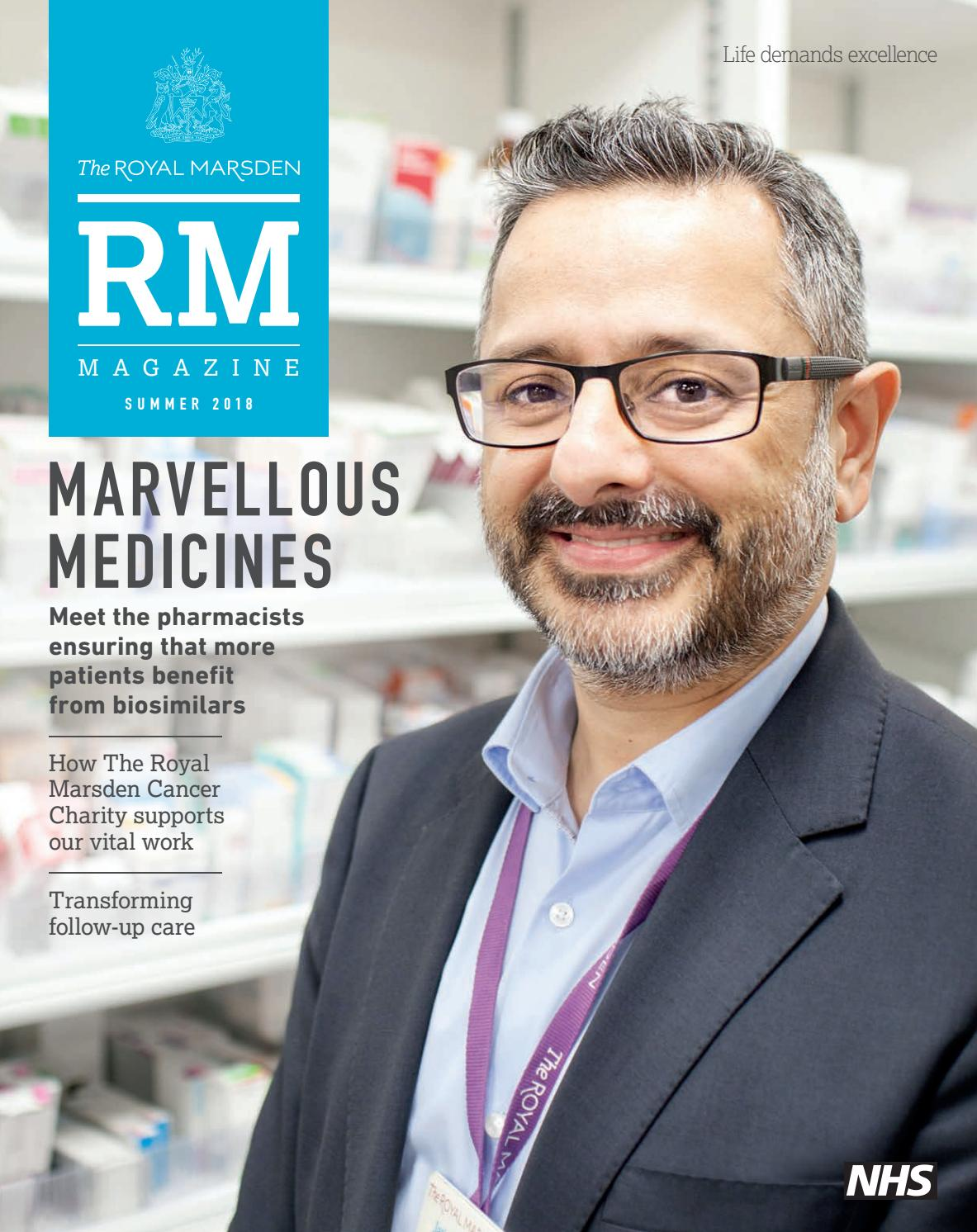 RM Magazine Summer 2018 by The Royal Marsden - issuu
