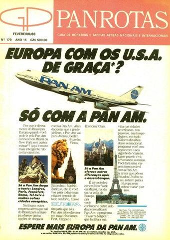 18038590ddaff Guia PANROTAS - Edição 179 - Fevereiro 1988 by PANROTAS Editora - issuu