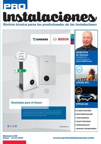 fe5ed03a66 Revista PROInstalaciones num. 10 - Mayo · Junio 2018 by ...
