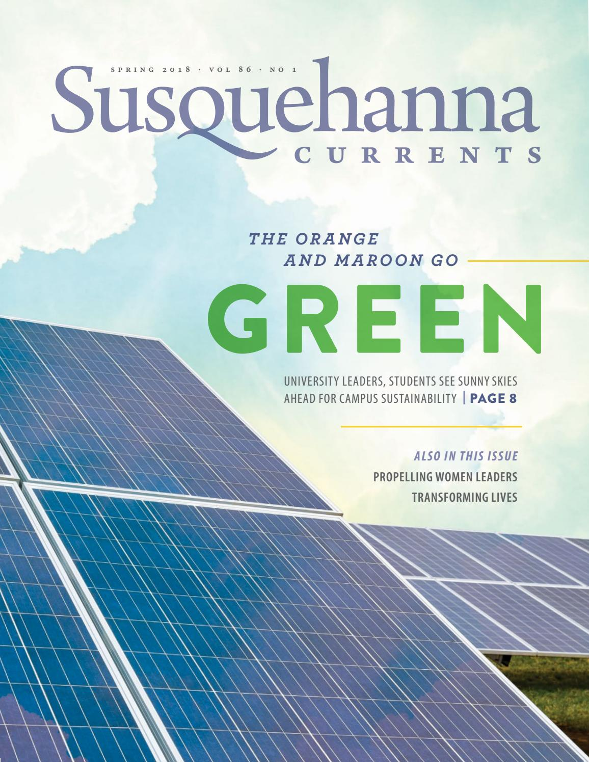 Susquehanna Currents Spring 2018 By University Issuu If You Run Out Of Room On The Starter Relay Quotbquot Post Install A Power