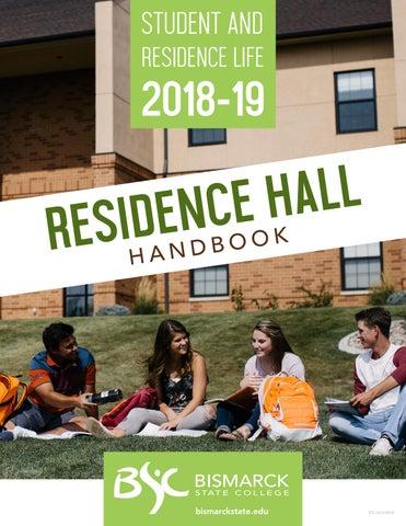 Residence Hall Handbook 2018-2019 by Bismarck State College